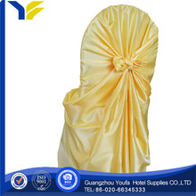 beach hot sale red spandex chair cover with organza sash china manufacturer supplier