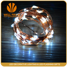 CE Approved Fairy Copper Wire Outdoor Patio tropical string lights