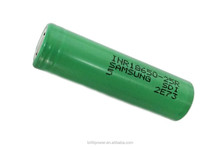 Original Samsung 18650 battery inr18650-25R green & blue color high amp 35A 18650 battery mods