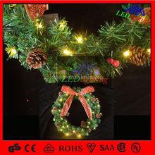 2015 Hot christmas decoration IP65 led string lights garland beaded garland
