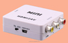 White household hdmi adapter rca with PAL NTSC two tv format output