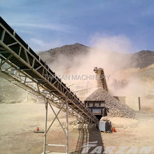 China lead brand conveyor belt design calculations for concrete product production
