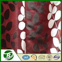 Beautiful fancy livingroom polyester jacquard curtain fabric drapes