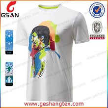 China Manufacturer Popular 100% Cotton White Plain T Shirt