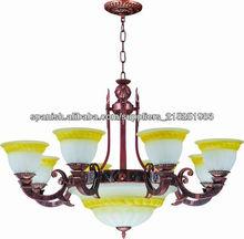 lámpara de iluminación clásica