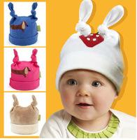 Funny Newborn Baby Beanie Hat Knitting Children's Winter Hats Handmade Crochet Cartoon Hat