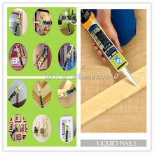Heavy Duty Construction Adhesive, silicone stick glue, brick,metal,concrete