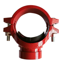 FM UL approved iron grooved fittings tee/mechanical tee /grooved equal tee