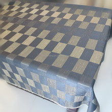 brick pattern blackout polyester jacquard tablecloth upholstery fabric