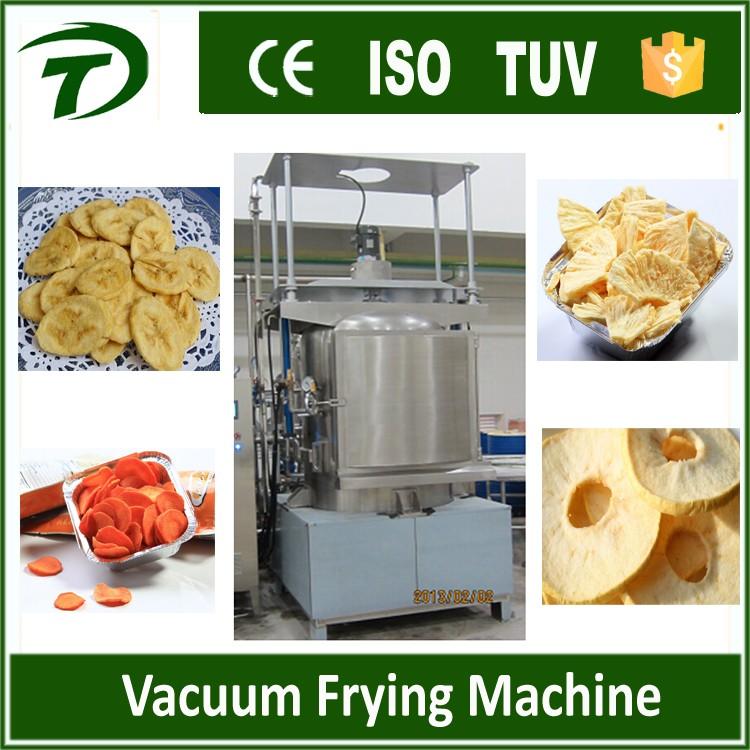 Автоматическое фруктовые и овощные чипсы вакуумные машины жарки