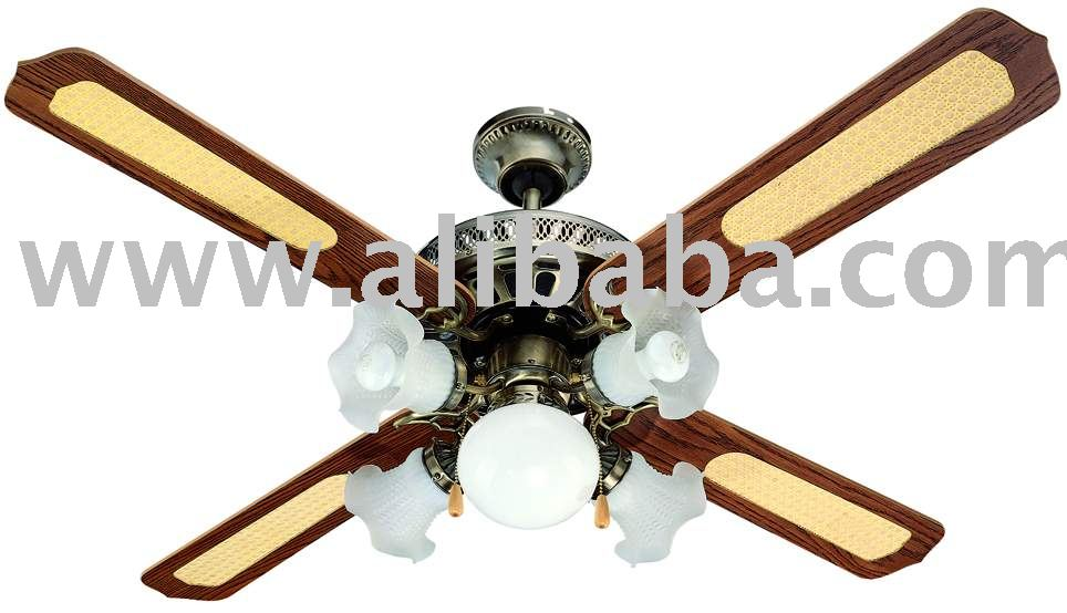 decorative ceiling fan buy fan product on. Black Bedroom Furniture Sets. Home Design Ideas