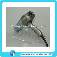 promotional acrylic hair dryer stand home use hair dryer stand acrylic househole electric blower stand display
