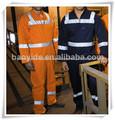 2014 broca de algodão mens roupa de trabalho marinha mecânico workwear chama workwear resistentes