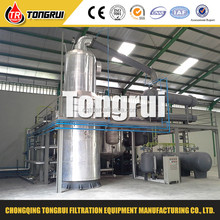 Waste oil to Base oil Distillation Machine/ Waste Engine Oil Recycling Distillation Plant