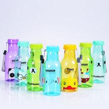 350ml logo printing beverage plastic bottle for juice