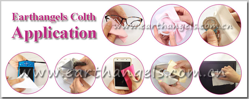 sublimation printing microfiber bags for glasses