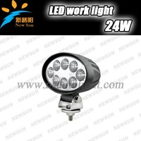 New Design 24W LED Work Light with CE RoHS IP67 Certificated for offfoad car,SUV,12V LED Work Light