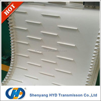 PVC white color diamond food conveyor belt price list