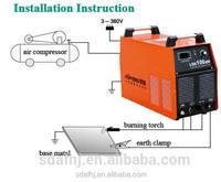 portable cnc cutter/cutting machine LGK-70 air plasma cutting machine