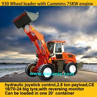 ZL30 yard loader china mini loader with CE, log grapple