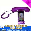 A embalagem do presente promocional pop phone handset/cor retro telefone móvel celular ser usado para