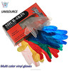 disposable colored vinyl gloves