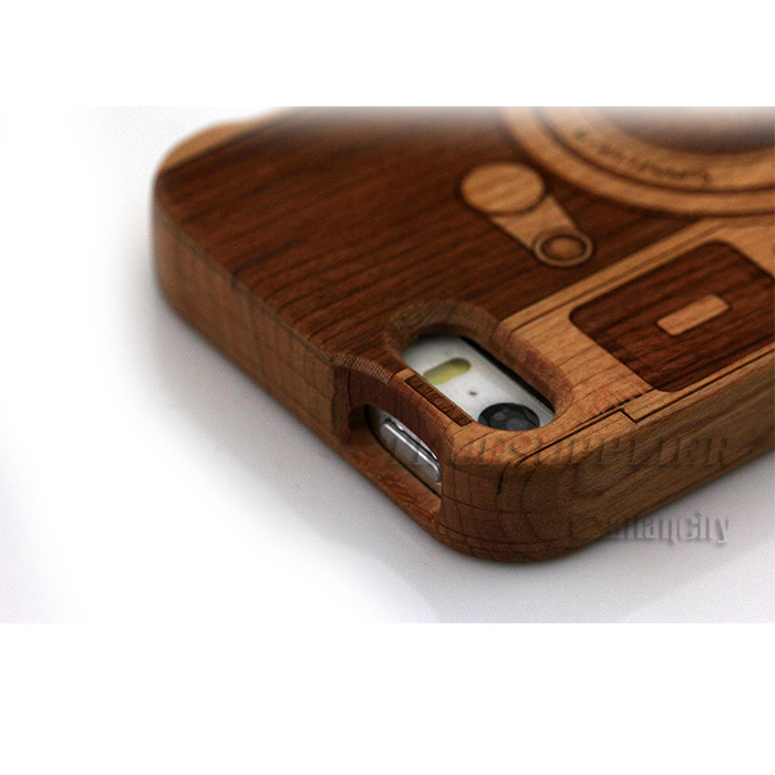 Rose Gold Wood Iphone 5 Case Orignal Wood Case For Iphone 5