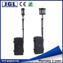 led construction working light wireless floodlight remote area lighting 12000Lm tactical military lighting tower