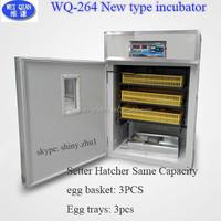 2015 New type WQ-264 egg incubator, chicken egg incubator, automatic hatchery machine