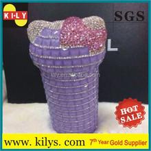 crystal stickers sheet fancy for purple cute cup