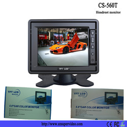 5.6'' Color TFT Car Monitor Support 320 x234 high Resolution LED monitor