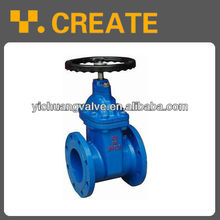 cast iron rising stem hand wheel gate valve