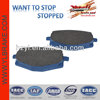 Professional Zhejiang motorcycle semi-metallic brake pad