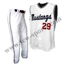 caliente de diseño uniforme de béisbol
