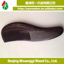 wholesale top grade wood hair comb beard wooden comb in health china's traditional craft