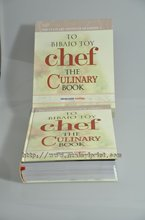 Chef the Culinary Book hard cover book