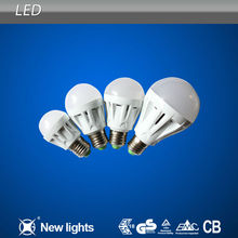 3W 5W 7W 9W 12W Plastic Led Light Bulb