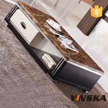 animal tiger stainless steel legs coffee table