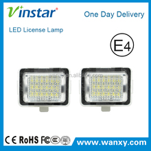 LED License Plate light rear registration plate lamp led car number plate lamp for Mercedes W204/W204 5D/W212/C216/C207/W221