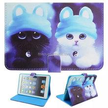 Cover case for ipad mini 3, flip pu leather tablet case for ipad mini