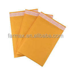 2015 Farmax Kraft Air Bubble Envelope Various Colors Bubble Envelope Mailers Waterproof Kraft Bubble Bag