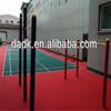 Anti-slip indoor Suspended Plastic Flooring multi sports flooring