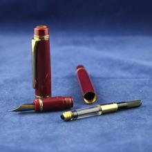 Jiangxin pencil shape glass fountain pen with led