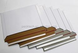 Blank paperboard Inserts Rectangle bag /backboard envelope for photo mailing