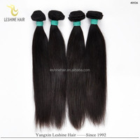 2015 Hot Selling Good Feedback Unprocessed Full Cuticle No Shedding No Tangle Dyeable 100% Virgin extensiones de pelo remy gold
