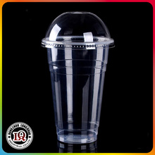 Plastic 12oz 360ML PP Cup With Dome Lid Factory Price