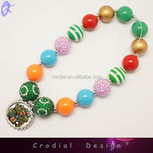 Hottest Sale Cheap High Quality Customized Disign Chunky Beaded Necklace For Wholesale Offer Product For Yiwu ABC