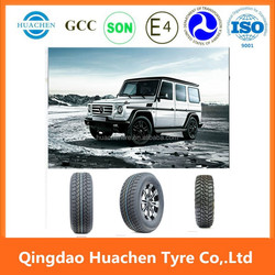 High quality passenger car tyre; 4x4 mud tires; white sidewall tyres