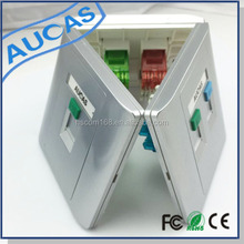 fiber faceplate with SC/LC/ST/FC / optical faceplate / rj45 faceplate