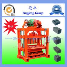 2015 YingFeng brand Durable QTJ4-40 machine for making concrete block